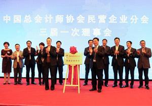 中国总会计师协会航运物流分会召开成立大会
